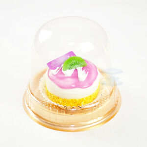 Cup A Cake Clear Pot With Dome Lid Muffin Container