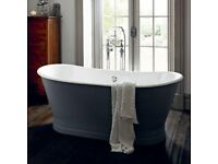 Heritage Madeira Freestanding Cast Iron Double Ended Bath Was £4500, Now £3375!!