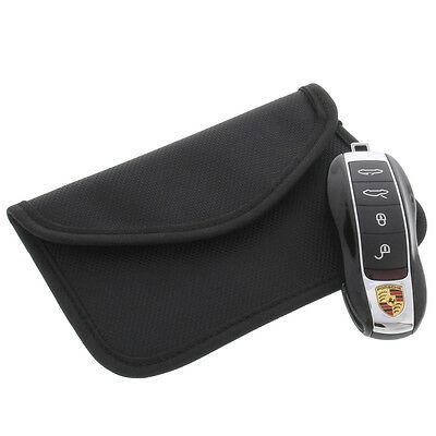 Strahlenschutz Tasche für Keyless Schlüssel Entry Open Go Diebstahl Schutz XL