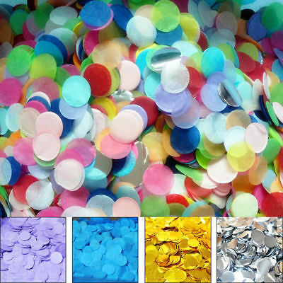 10g Round Throwing Confetti Colorful Tissue Paper Birthday Party Wedding Decor](Confetti Tissue Paper)