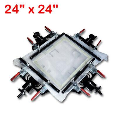 Professional 24 X 24 Screen Printing Stretcher Fabric Mesh Stretching Tools