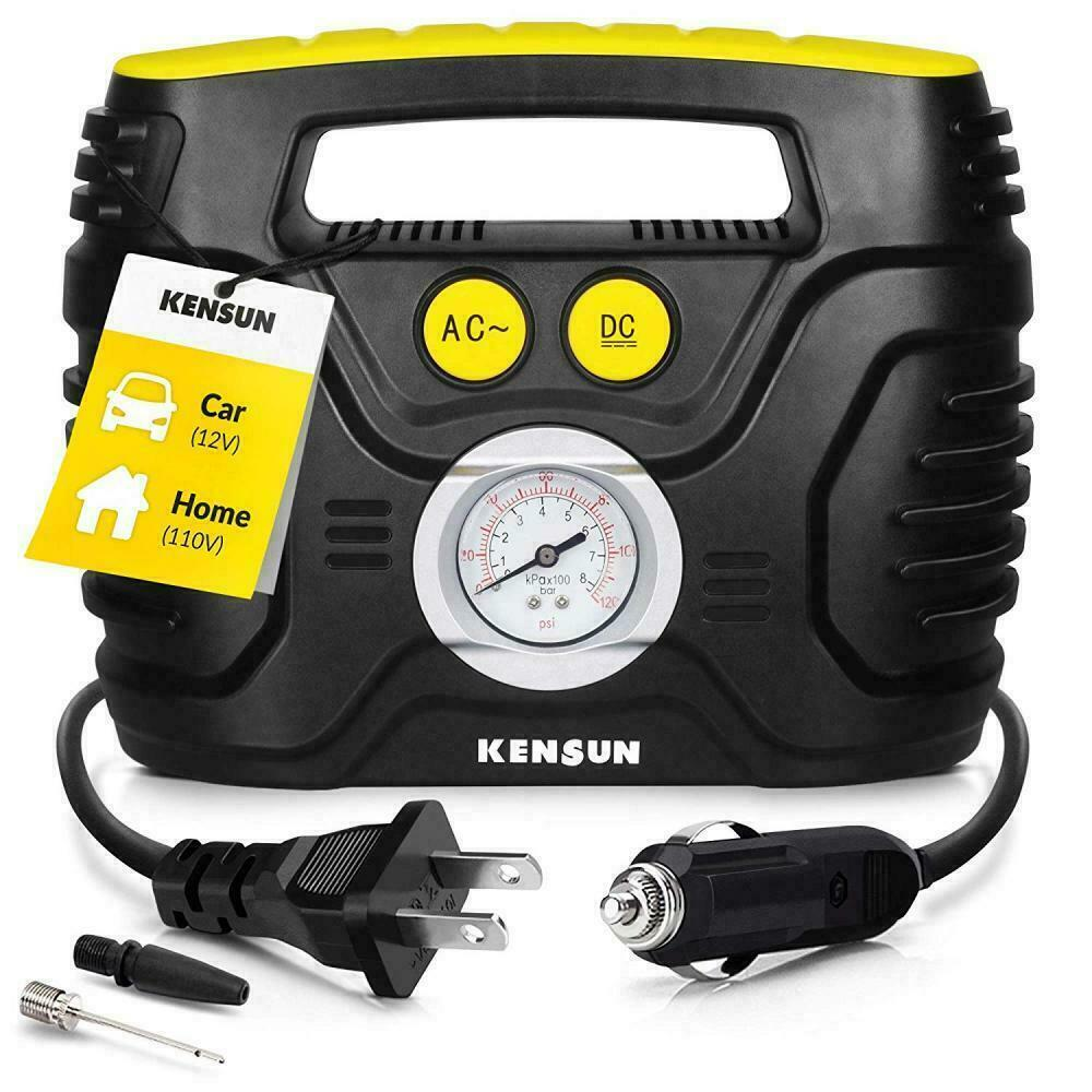 Kensun AC/DC Swift Performance Portable Air Compressor NEW -
