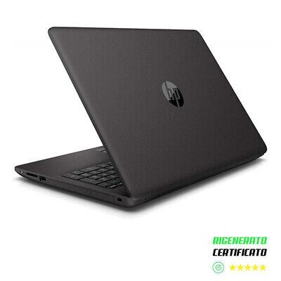 "Notebook HP 255 G6 Cpu 2.60GHz 15.6"" SSD 240Gb + Ram 8Gb Windows 10 Refurbished"