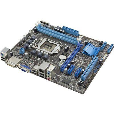 ASUS P8H61-M LE/CSM, LGA 1155/Socket H2, i3 i5 i7 INTEL Motherboard Rev 3