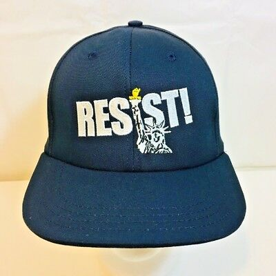 Resist Hat Cap Anti Trump Statue of Liberty The Resistance March Protest