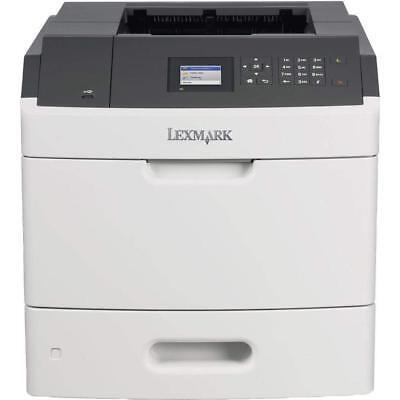 Lexmark MS810N Monochromlaserdrucker graphit-weiß Zustand: gut + geprüft