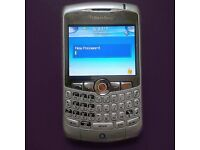 Silver Blackberry Curve 8310 Smart Phone on o2 - Excellent Condition £10