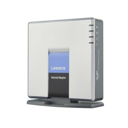 SPA3000 Unlocked Linksys Internet Phone Adapter VoIP Gateway