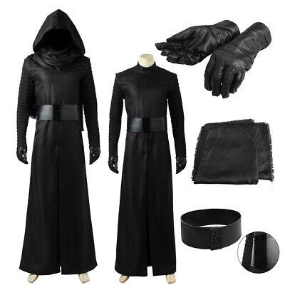 Star Wars: The Force Awakens Kylo Ren Cosplay Costume Custom Made Halloween