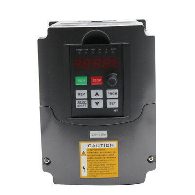 2200W 220V VFD 3HP 10A Frequenzumrichter Variable Frequency Drive Inverter