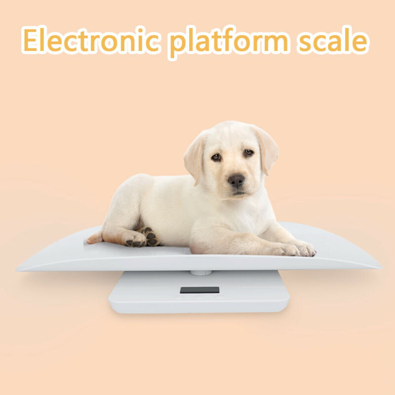 Baby Weight Scale 100kg Digital LCD Electronic Body Pet Puppies Kittens Scales