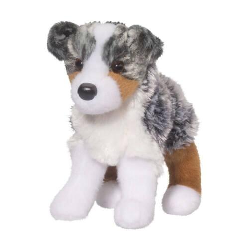 STEWARD the Plush AUSTRALIAN SHEPHERD Stuffed Animal - Douglas Cuddle Toys #4019