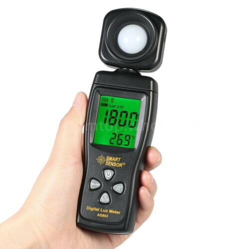 Digital Lux Meter Luminometer Photometer Luxmeter Light Meter 0-200000 Lux