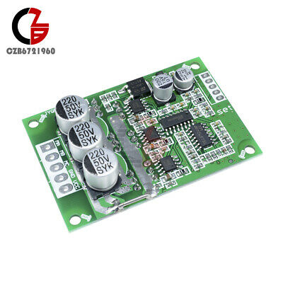 Dc 12-36v 500w Brushless Motor Pwm Control Controller Balanced Bldc Driver Board