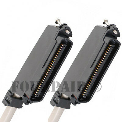 25 Pair Telco Amphenol Cat3 Trunk Cable 50-pin Male To Ma...