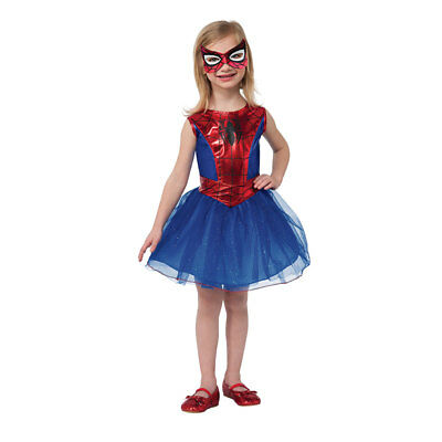 Girls Spider-Girl Dress Costume