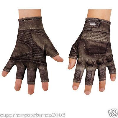 Captain America Handschuhe (Captain America The Winter Soldaten Kinder Handschuhe Marvel Comics Brandneu)