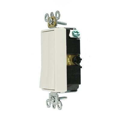 Leviton Decora Plus 20 Amp 3-Way Switch, White (20 Amp Decora)