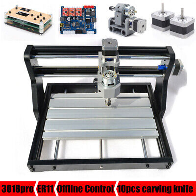 Cnc 3018 Pro Machine Router 3 Axis Engraving Laser Pcb Wood Diy Millingoffline