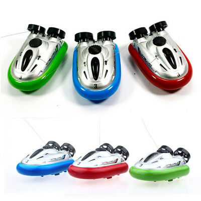 ABS Mini 4CH RC Radio Remote Control Speedboat Sport Hovercraft Hover Boat Ship