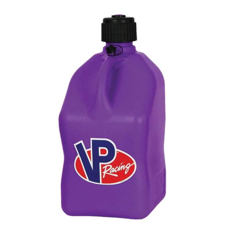 VP Racing 5 Gallon Motorsport Racing Fuel Container Utility Jug Gas Can, Purple