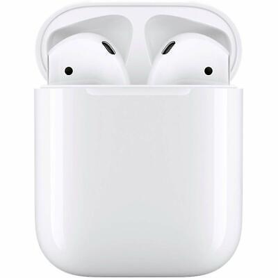 NEW Factory Sealed Apple AirPods White MMEF2AM/A Genuine with Charging Case