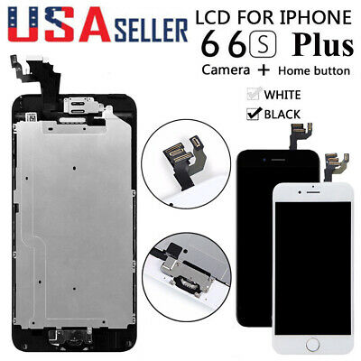 For iPhone 6S 6 Plus LCD Touch Screen Full Replacement With Home Button&Camera