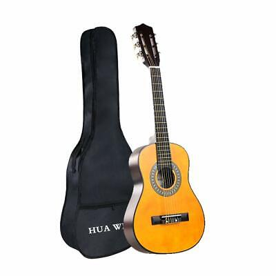 Classical Guitar Nylon Strings Natural 30 Inch 1/2 Size Acoustic Guitar w/ BAG Acoustic Guitars Classical Nylon