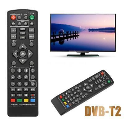 Universal Remote Control Smart Controller for DVB-T2 Set-Top Box HDTV Black 10M