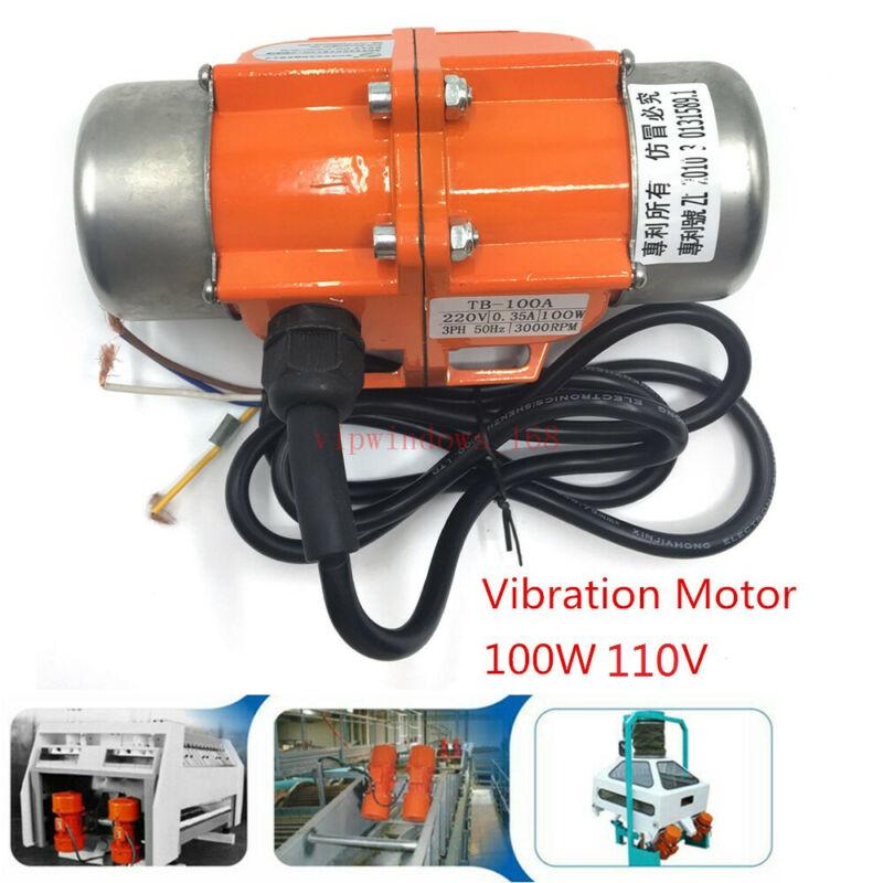 110V 100W Vibration Motor For Sand Blaster Media Blast Cabinet Table Shaker