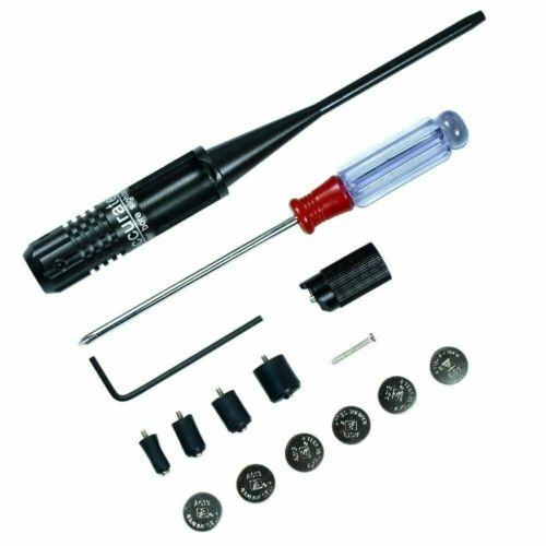 Laser Bore Sighter kit .22 to .50 Caliber Rifles Handgun Golden Future INSERT