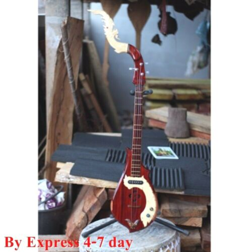 Electric Harp Guitar Special Work Exquisite Head Handcraft Traditional Musical
