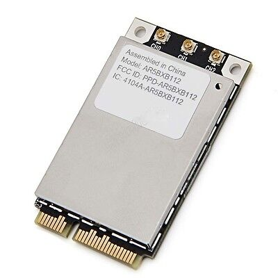 Apple AirPort Atheros AR5BXB112 AR9380 Dual-Band PCI-E 450M Better than (Best Pcie Network Card)