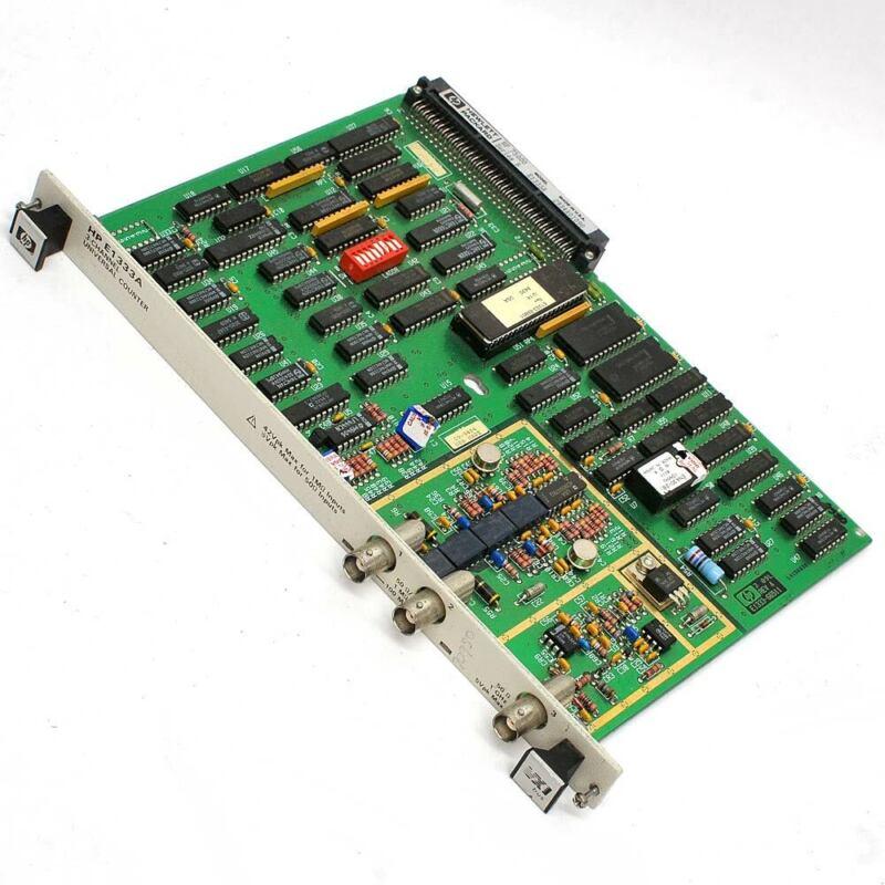HP E1333A 3-Channel Universal Counter 1GHz VXI Bus Hewlett Packard 75000 SeriesB