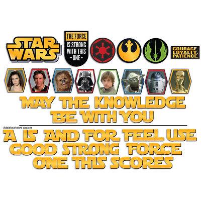 EU847711 Star Wars Mini Bulletin Board Teacher Supplies Classroom Decorations