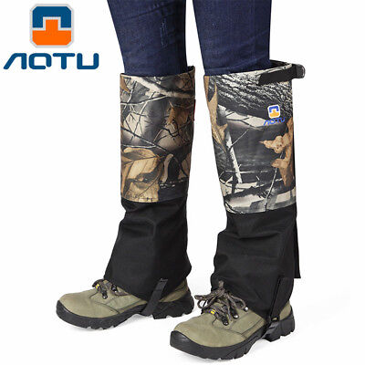 - Anti Bite Snake Guard Leg Protection Outdoor Snow Proof Gaiter Cover Camping