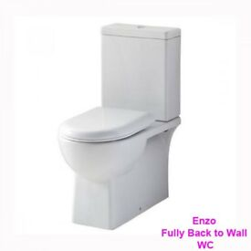 fully back to wall toilet with soft close seat now only £149