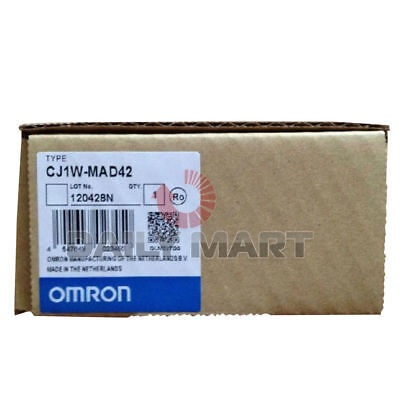 Omron Automation Safety Cj1w-mad42 Cj1wmad42 Plc Programmable Logic Controller