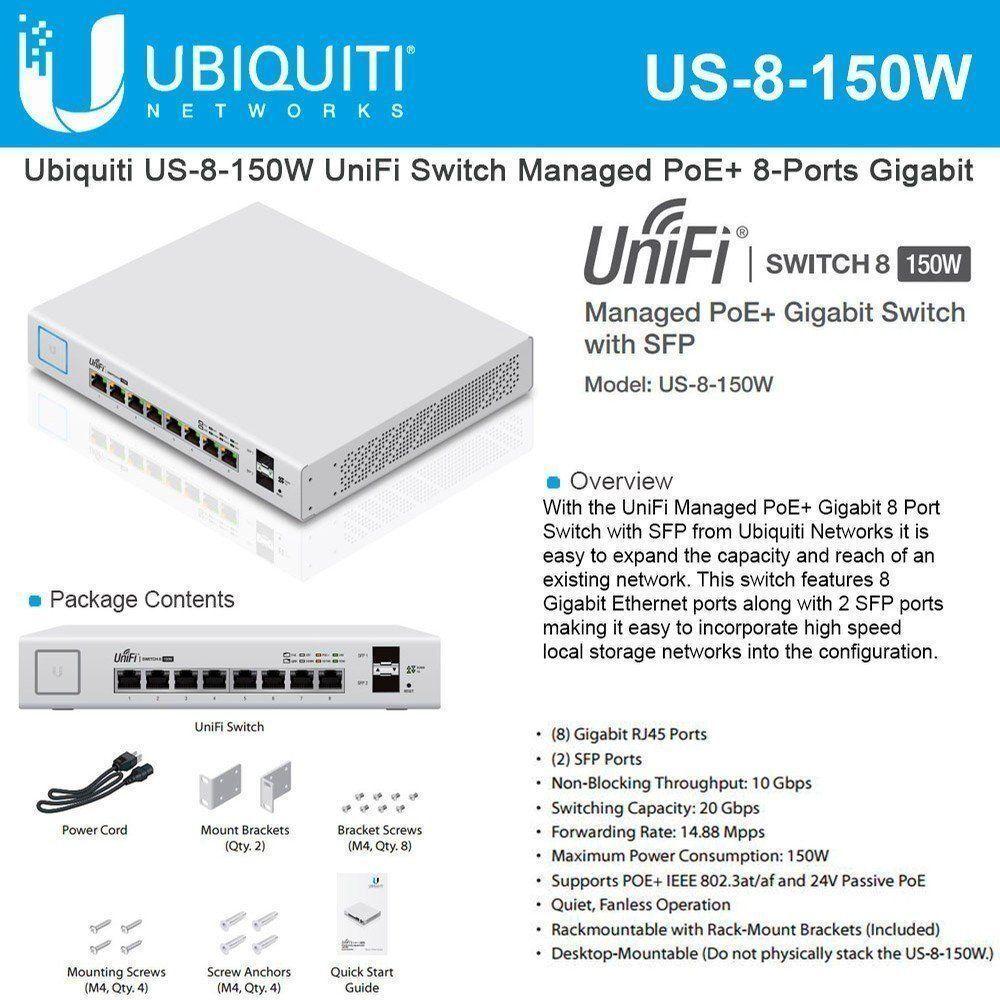 Unifi Switch 8 60w Manual