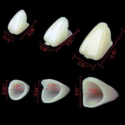 Temporary Crown Porcelain Materials Resin Anterior Teeth Veneers Dental Prosthes