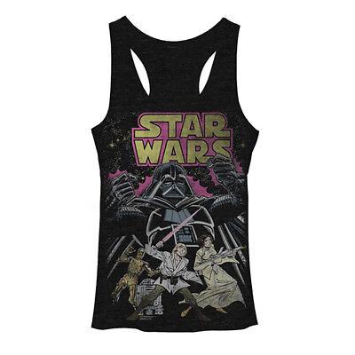 Star Wars Comic Wars Womens Tank Top New Authentic S-XL
