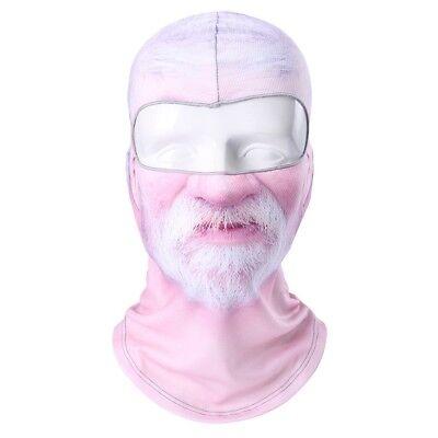 Old Man White Beard Creepy Scary Ski Motorcycle Bike Winter Face Mask Balaclava](Creepy Face Mask)