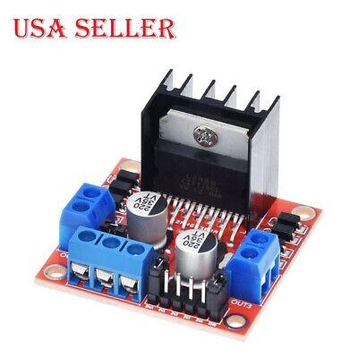 2pcs Dual H-bridge Dc Stepper Motor Drive Controller Board Module L298n Arduino
