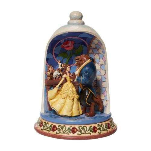 Jim Shore Disney BEAUTY and the BEAST ROSE DOME 30th Anniversary Figurine 2021