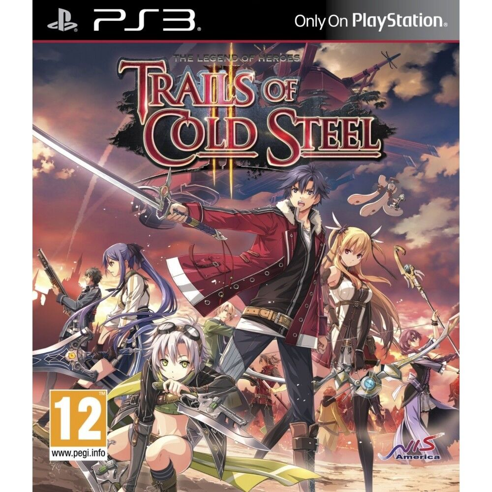 The Legend Of Heroes Trails Cold Steel 2 Ii Pal Import Ps3 Brand Switch Rayman Legends English Games Stock Photo