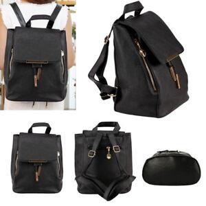 Lady Women Leather Backpack Fashion Rucksack College Shoulder Satchel Travel Bag