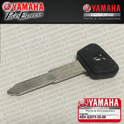 2003 - 2016 YAMAHA YZF R1 NEW GENUINE OEM IGNITION KEY BLANK 4BH-82511-09-00
