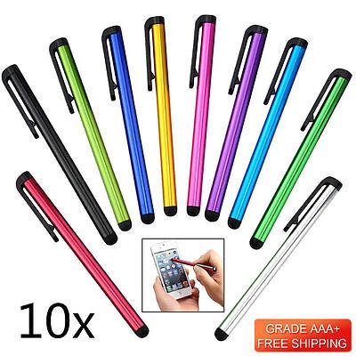 10xStylus Touchpen Eingabestift Metall Für Smartphone Tablet iphone ipad samsung