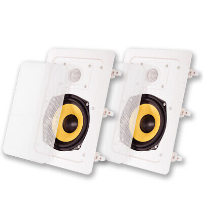 Acoustic Audio by Goldwood HD-525 In Wall Speakers Home
