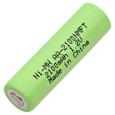 Battery Nickel Metal Hydride (NIMH) AA Cell 1800 mAh Flat Top ()